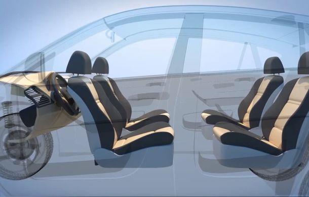 Ford a patentat o mașină autonomă care transformă interiorul în birou mobil în timpul mersului - Poza 4