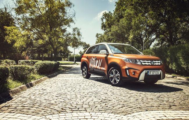 Test drive Suzuki Vitara