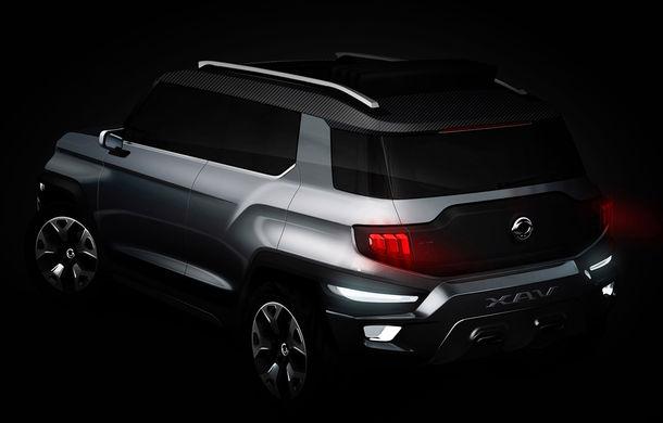 Ssangyong XLV-Air Concept anunță o viitoare versiune cu șapte locuri a modelului Tivoli - Poza 3