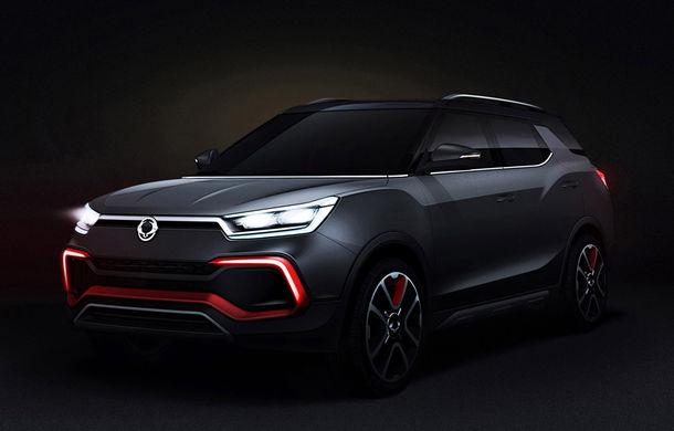 Ssangyong XLV-Air Concept anunță o viitoare versiune cu șapte locuri a modelului Tivoli - Poza 1