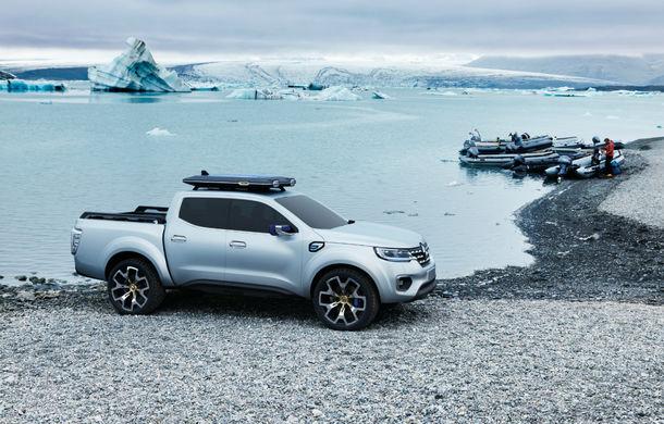 Renault Alaskan Concept anunță un viitor model pick-up în gama constructorului francez - Poza 14