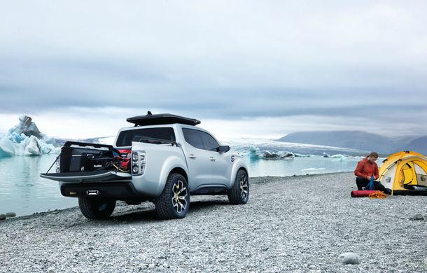 Renault Alaskan Concept anunță un viitor model pick-up în gama constructorului francez - Poza 15