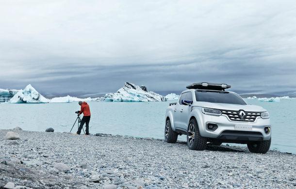 Renault Alaskan Concept anunță un viitor model pick-up în gama constructorului francez - Poza 13