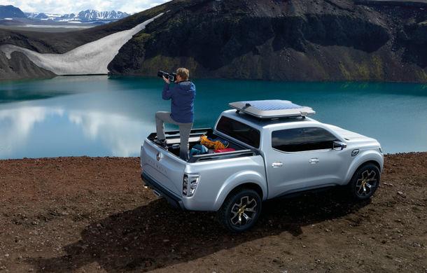 Renault Alaskan Concept anunță un viitor model pick-up în gama constructorului francez - Poza 9