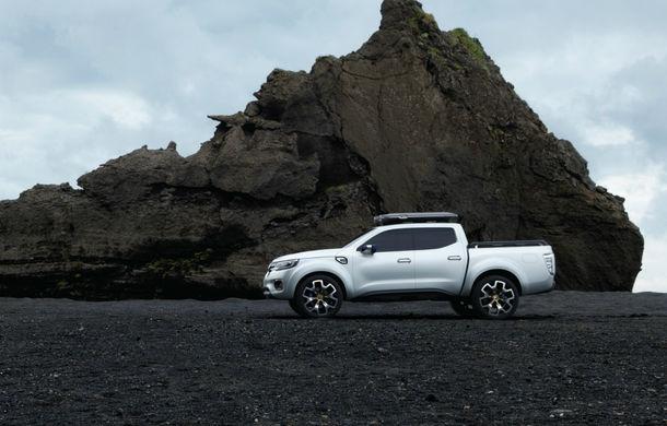 Renault Alaskan Concept anunță un viitor model pick-up în gama constructorului francez - Poza 23