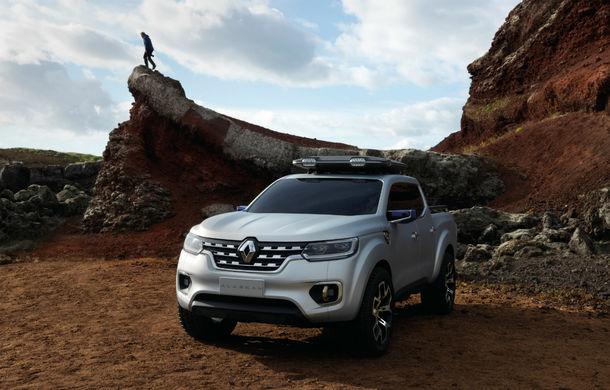 Renault Alaskan Concept anunță un viitor model pick-up în gama constructorului francez - Poza 16