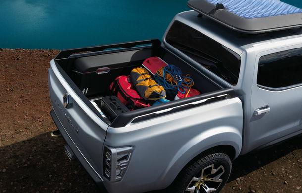 Renault Alaskan Concept anunță un viitor model pick-up în gama constructorului francez - Poza 11