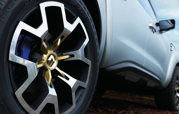 Renault Alaskan Concept anunță un viitor model pick-up în gama constructorului francez - Poza 17