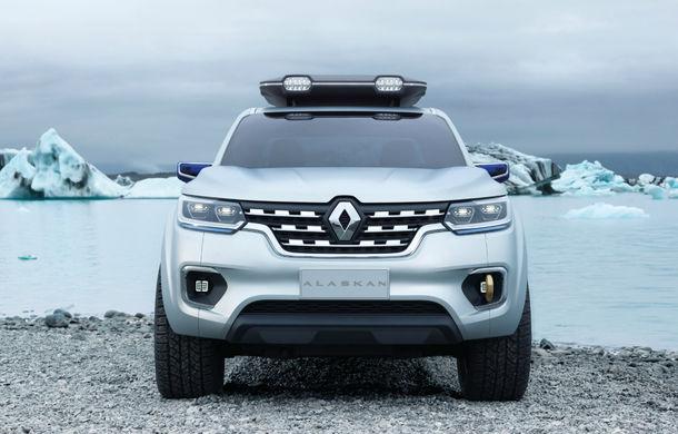Renault Alaskan Concept anunță un viitor model pick-up în gama constructorului francez - Poza 12