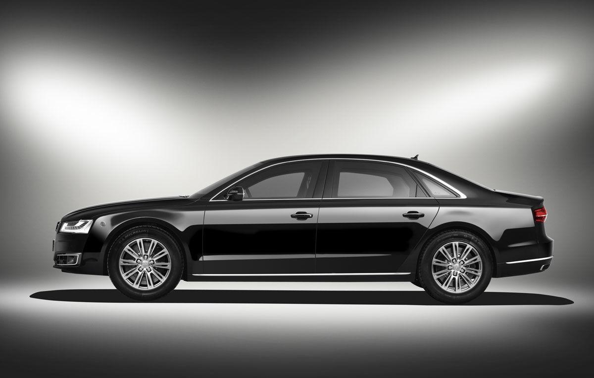 Audi A8 L Security Noul A8 Rezistă La Gloanţe şi Explozii