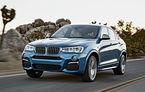 BMW X4 M40i se prezintă oficial: 4.9 secunde pentru 0-100 km/h şi 360 de cai putere