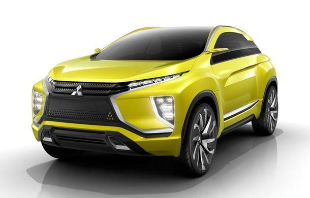 Mitsubishi eX, conceptul 100% electric al cărui design prefigurează viitoarele crossovere ale mărcii - Poza 1