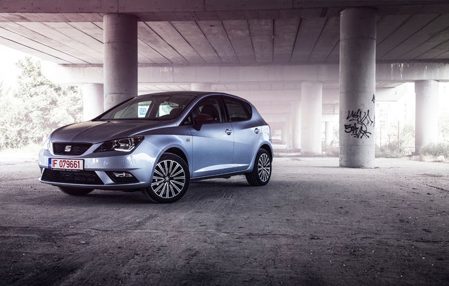Test drive SEAT Ibiza facelift