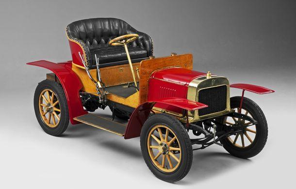 Skoda sărbătorește și are de ce: au trecut fix 110 de ani de când au fabricat prima lor mașină - Poza 1