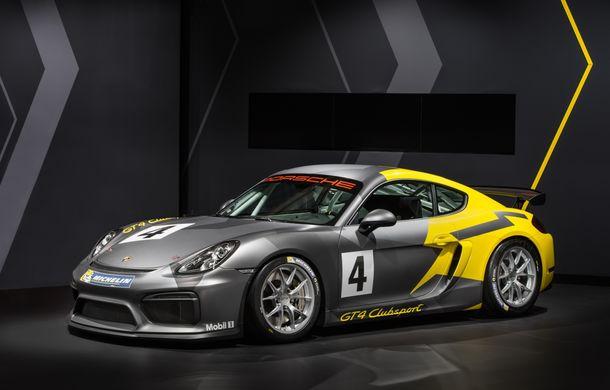 Porsche Cayman GT4 primește o variantă dedicată competițiilor: costă 111.000 de euro fără taxe - Poza 1