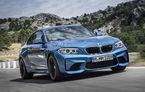 BMW M2: 63.000 de euro în România pentru rivalul lui Audi RS3 Sportback şi Mercedes A 45 AMG