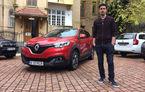 """România lucrului bine făcut, faza pe design auto. Sătmăreanul care a conceput noul Renault Kadjar: """"Maşina de serie seamănă foarte bine cu prima schiţă pe care am desenat-o"""""""