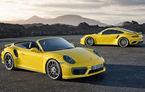 Până unde merge cursa cailor putere? Porsche 911 Turbo și Turbo S au debutat oficial cu 20 de cai în plus