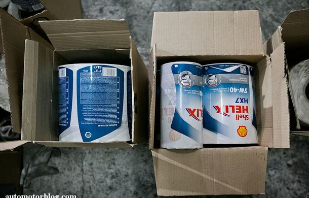 Se întâmplă în Mama Rusie. Fabrică de uleiuri auto contrafăcute cu o rețetă de vis: venituri de 13 milioane de euro pe lună - Poza 12