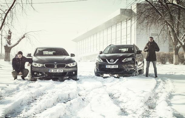 Mașini de vacanță: teste de consum de Sărbători cu Nissan Qashqai 1.6 dCi și BMW Seria 4 Gran Coupe 430d - Poza 1
