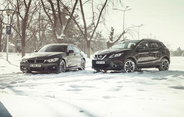Mașini de vacanță: teste de consum de Sărbători cu Nissan Qashqai 1.6 dCi și BMW Seria 4 Gran Coupe 430d - Poza 2