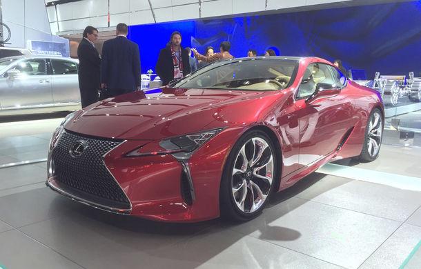 Live from Detroit. Lexus a adus la NAIAS 2016 cel mai frumos model al salonului: LC500 - Poza 1