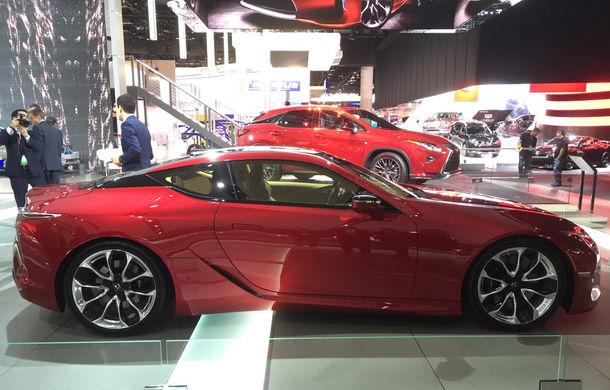Live from Detroit. Lexus a adus la NAIAS 2016 cel mai frumos model al salonului: LC500 - Poza 3