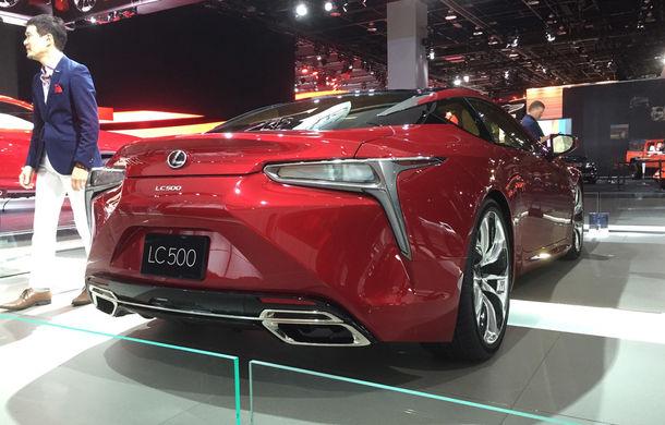 Live from Detroit. Lexus a adus la NAIAS 2016 cel mai frumos model al salonului: LC500 - Poza 4