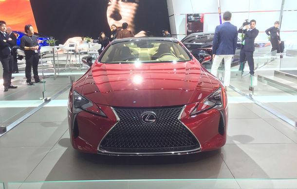 Live from Detroit. Lexus a adus la NAIAS 2016 cel mai frumos model al salonului: LC500 - Poza 2