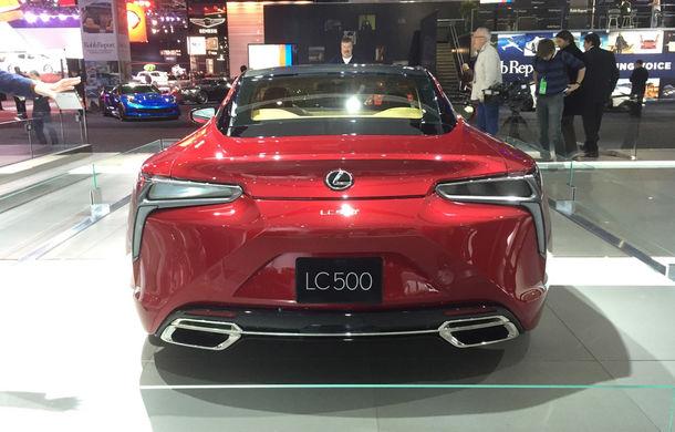 Live from Detroit. Lexus a adus la NAIAS 2016 cel mai frumos model al salonului: LC500 - Poza 5