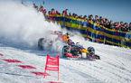 Cine are nevoie de schiuri? Un monopost de Formula 1 a răscolit zăpada unei pârtii celebre din Austria