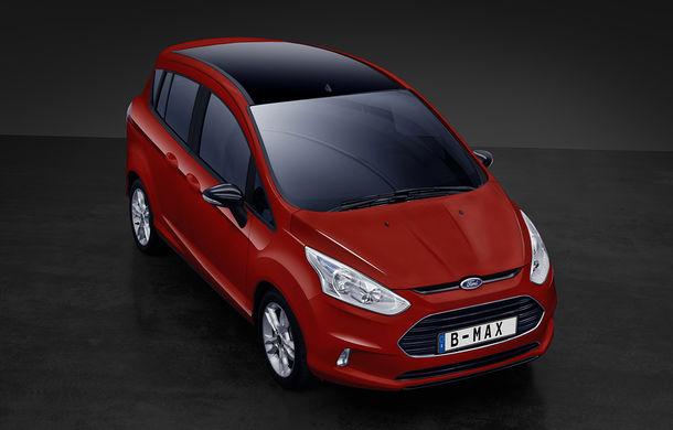 În loc de facelift: Ford lansează B-Max Colour Edition, care aduce o versiune de 140 CP a motorului 1.0 EcoBoost - Poza 1