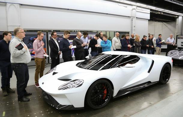 Secretul din buncăr. Cum a fost construit noul Ford GT de o mână de oameni într-o cameră obscură aflată în inima mărcii americane - Poza 15