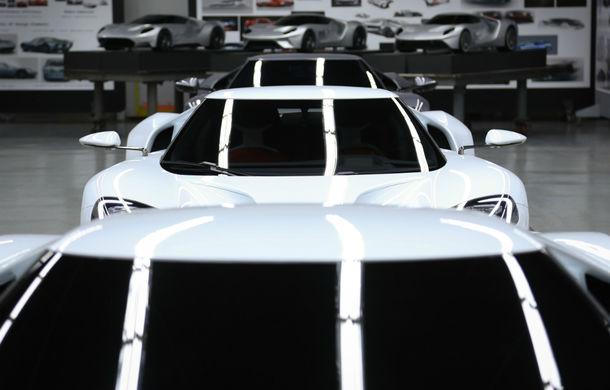 Secretul din buncăr. Cum a fost construit noul Ford GT de o mână de oameni într-o cameră obscură aflată în inima mărcii americane - Poza 33