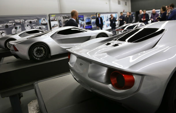 Secretul din buncăr. Cum a fost construit noul Ford GT de o mână de oameni într-o cameră obscură aflată în inima mărcii americane - Poza 19