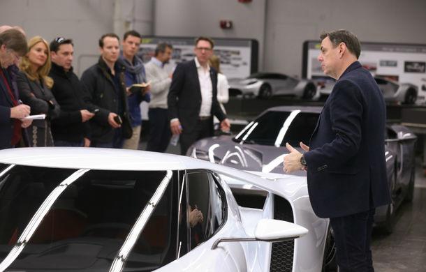 Secretul din buncăr. Cum a fost construit noul Ford GT de o mână de oameni într-o cameră obscură aflată în inima mărcii americane - Poza 5