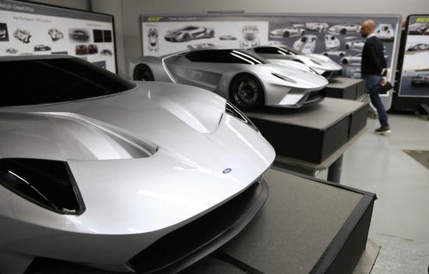 Secretul din buncăr. Cum a fost construit noul Ford GT de o mână de oameni într-o cameră obscură aflată în inima mărcii americane - Poza 18