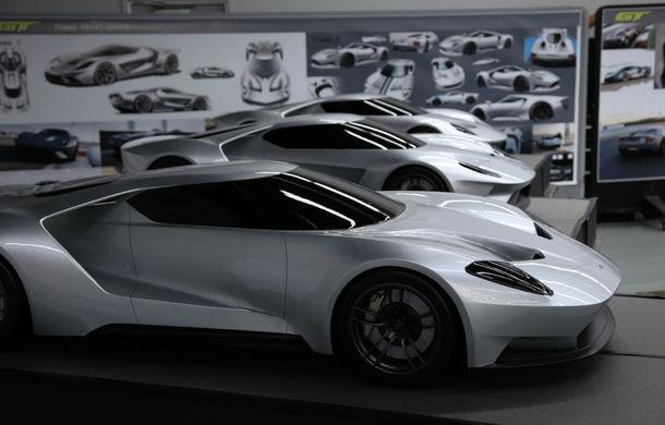 Secretul din buncăr. Cum a fost construit noul Ford GT de o mână de oameni într-o cameră obscură aflată în inima mărcii americane - Poza 39