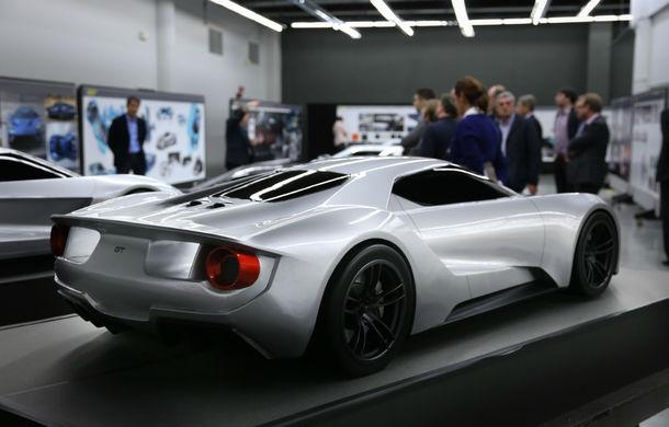 Secretul din buncăr. Cum a fost construit noul Ford GT de o mână de oameni într-o cameră obscură aflată în inima mărcii americane - Poza 42