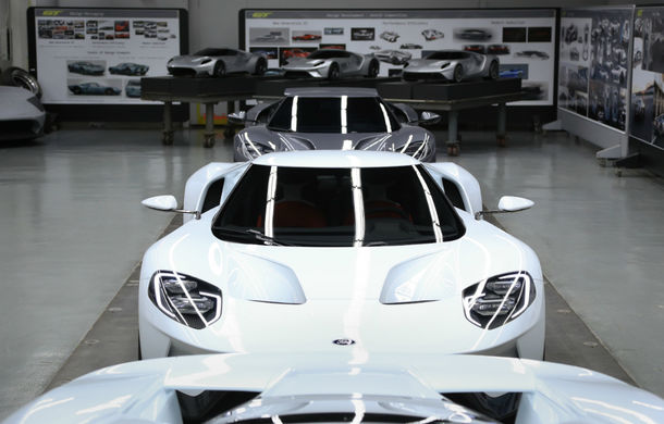 Secretul din buncăr. Cum a fost construit noul Ford GT de o mână de oameni într-o cameră obscură aflată în inima mărcii americane - Poza 34