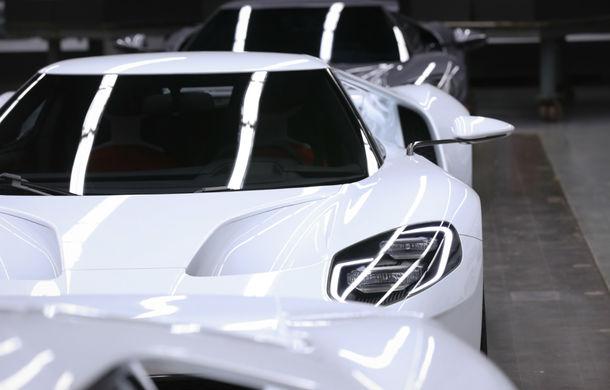 Secretul din buncăr. Cum a fost construit noul Ford GT de o mână de oameni într-o cameră obscură aflată în inima mărcii americane - Poza 11