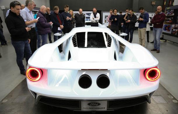 Secretul din buncăr. Cum a fost construit noul Ford GT de o mână de oameni într-o cameră obscură aflată în inima mărcii americane - Poza 23
