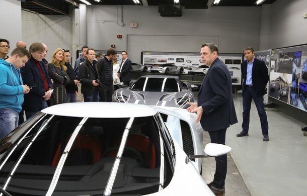 Secretul din buncăr. Cum a fost construit noul Ford GT de o mână de oameni într-o cameră obscură aflată în inima mărcii americane - Poza 16