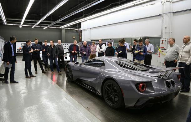 Secretul din buncăr. Cum a fost construit noul Ford GT de o mână de oameni într-o cameră obscură aflată în inima mărcii americane - Poza 20