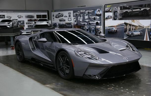 Secretul din buncăr. Cum a fost construit noul Ford GT de o mână de oameni într-o cameră obscură aflată în inima mărcii americane - Poza 37