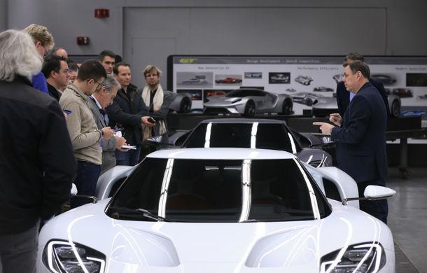 Secretul din buncăr. Cum a fost construit noul Ford GT de o mână de oameni într-o cameră obscură aflată în inima mărcii americane - Poza 12