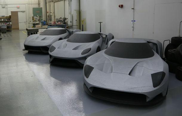 Secretul din buncăr. Cum a fost construit noul Ford GT de o mână de oameni într-o cameră obscură aflată în inima mărcii americane - Poza 44