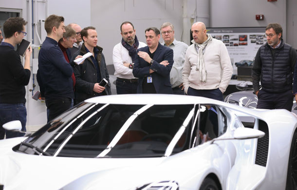 Secretul din buncăr. Cum a fost construit noul Ford GT de o mână de oameni într-o cameră obscură aflată în inima mărcii americane - Poza 9