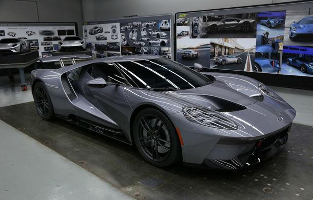 Secretul din buncăr. Cum a fost construit noul Ford GT de o mână de oameni într-o cameră obscură aflată în inima mărcii americane - Poza 45
