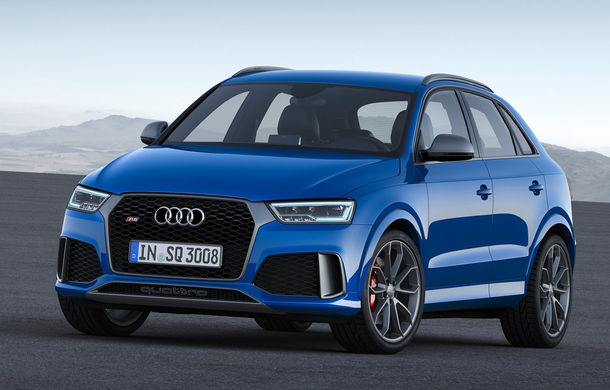 Pocket-Rocket-SUV: Audi RS Q3 Performance oferă 367 de cai putere - Poza 1